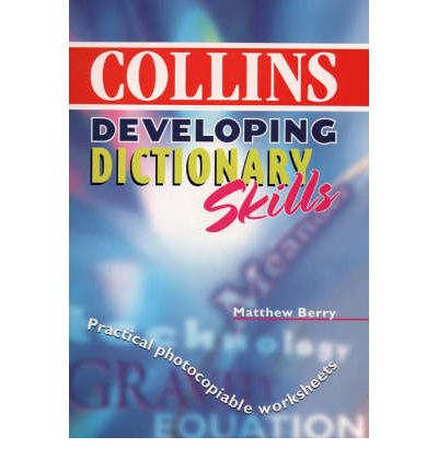 New Collins School Dictionary: Developing Dictionary Skills Pack