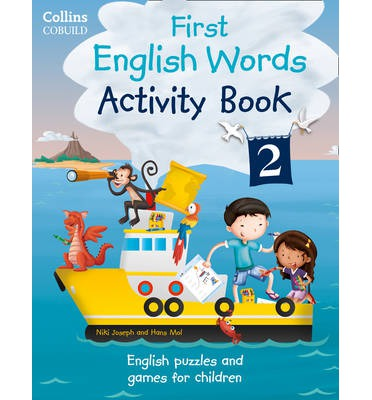Collins First English Words: Activity: Age 3-7 Book 2