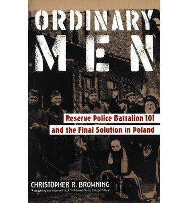 a critical description of the reserve police battalion 101 in ordinary men by christopher browning In fact, browning's research on reserve police battalion 101 and the final solution in poland is one of the three studies upon which goldhagen heavily depends, although he expends a remarkable number of footnotes on browning's work, some quite lengthy, to position himself as an independent voice.