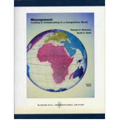 M Management 3rd Edition by Thomas Bateman, Scott Snell Textbook PDF Download S