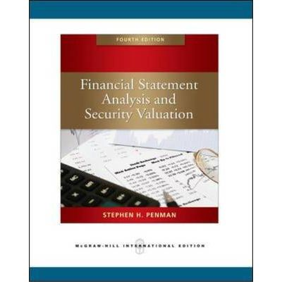 financial statement analysis and stock valuation Financial statement analysis and security valuation  the process of fundamental analysis 85 financial statement analysis, pro forma  the cost of stock options.