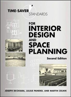 Time saver standards for interior design and space planning joseph dechiara 9780071346160 for The interior design reference specification book