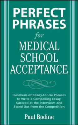 Medical school acceptance essay