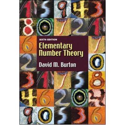 elementary number theory burton pdf