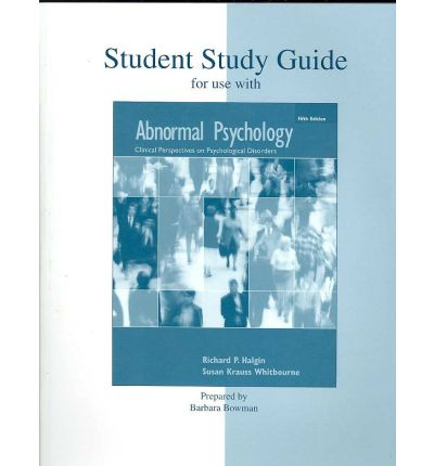 abnormal behavior study guide One of the most important things that we can do as teachers is help our students to keep themselves organized for over the two years of the course even top students often struggle to take all of information that they are exposed to and synthesize it effectivelyat the end of each unit, i have students design a study guide.