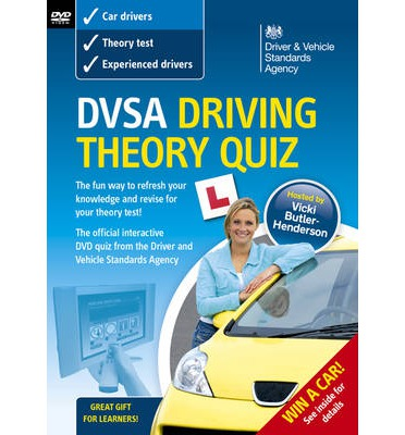 DSA Driving Theory Quiz 2008/09: Valid for Tests Taken from 1 September 2008