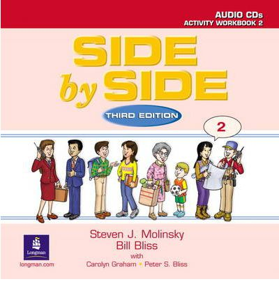 Side by Side 2 Activity Test Prep Workbook w/Answer Key and CDs
