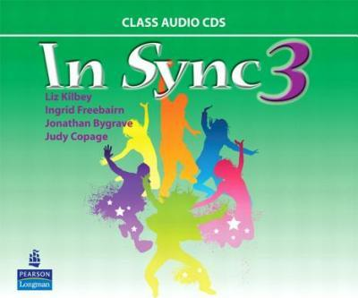 In Sync 3 Class AudioCDs