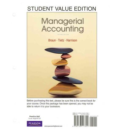 how managerial accounting adds value to Coupon: rent managerial accounting creating value in a dynamic business environment 10th edition (9780078025662) and save up to 80% on textbook rentals and 90% on used textbooks get free 7-day instant etextbook access.