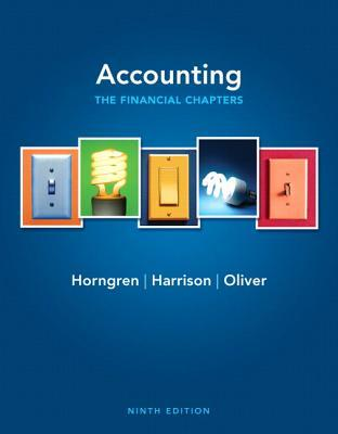 Accounting By Horngren Harrison