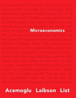 Microeconomics Plus New Myeconlab with Pearson eText - Access Card Package