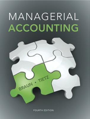 Managerial Accounting Plus New Myaccountinglab with Pearson Etext -- Access Card Package