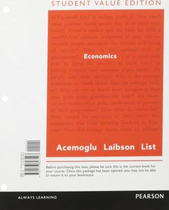 Economics, Student Value Edition Plus New Myeconlab with Pearson Etext -- Access Card Package
