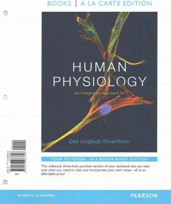 human physiology an integrated approach by dee silverthorn pdf