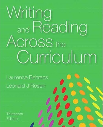 Reading and writing across the curriculum research