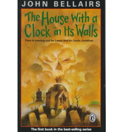 house with a clock in its wall john bellairs 9780142402573