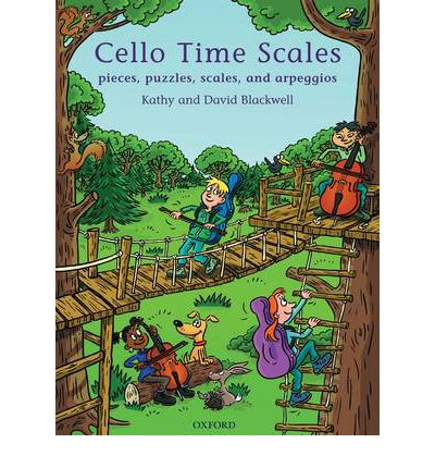 Cello Time Scales : Pieces, Puzzles, Scales, and Arpeggios