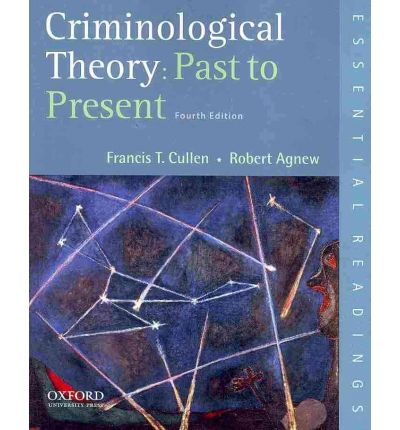 criminological theory Prescribing some criminological theory: an examination of the illicit use of  prescription stimulants among college students maahs jr(1).