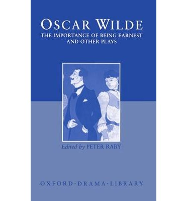 a comparative analysis of society in oscar wildes the importance of being earnest salome and the pic