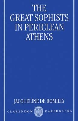 The Great Sophists in Periclean Athens