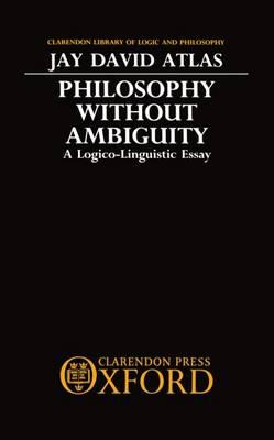 "ambiguity in language essay What is ambiguous about the above thesis in other words, what is the ambiguity a standard dictionary defines the word ""ambiguous"" as having more than one meaning or causing uncertaintythe same dictionary defines ""ambiguity"" as an expression or statement that has more than one meaningthe student's thesis has five parts."