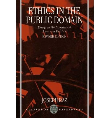 public philosophy essays on morality in politics review