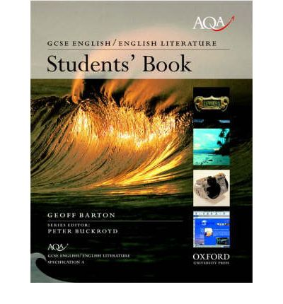aqa english gcse specification a students book geoff