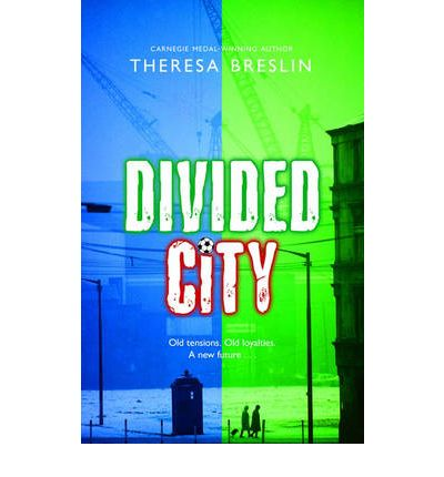 divided city by theresa breslin Award winning author of books such as divided city, prisoner of the inquisition, remembrance, whispers in the graveyard, and the dream master.