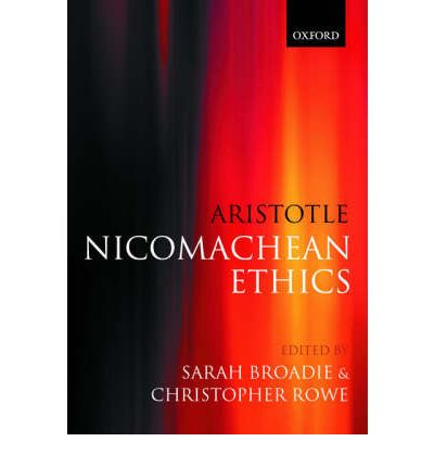 essays about aristotles nicomachean ethics Introduction the nicomachean ethics, aristotle's most important study of personal morality and the ends of human life, has for many centuries been a widely-read.