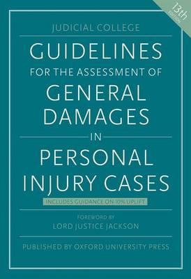 Judicial College Guidelines >> Guidelines for the Assessment of General Damages in Personal Injury Cases : JUDICIAL COLLEGE ...