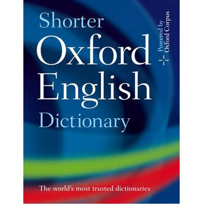 Shorter Oxford English Dictionary