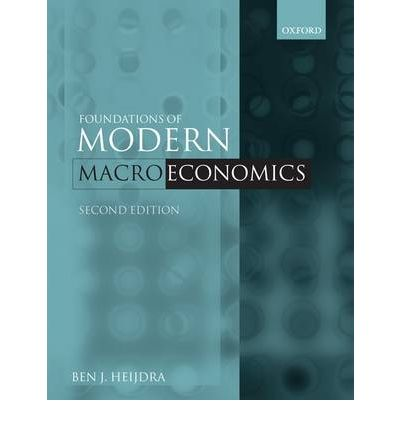 OF HEIJDRA MACROECONOMICS PDF MODERN FOUNDATIONS