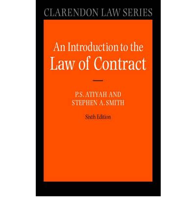 an introduction to the law of contract Professor waddams specializes in contract law and is the author of seven books:  products liability, the law of contracts, the law of damages, introduction to.