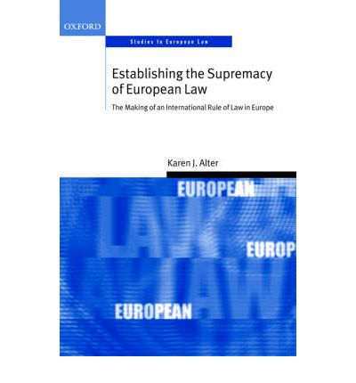 """supremacy of ec law essay Question: """"the preliminary reference procedure, under art 267 tfeu, is a vital part of ensuring the uniform application of the eu law across the member states, but."""