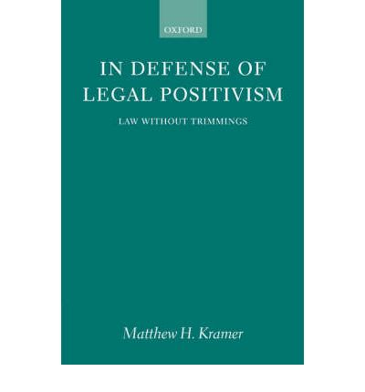 legal positivism and morality Positivism a school of jurisprudence whose advocates believe that the only legitimate sources of law are those written rules, regulations, and principles that have been expressly enacted, adopted, or recognized by a government body, including administrative, executive, legislative, and judicial bodies positivism sharply separates law and morality it is often contrasted with natural law.