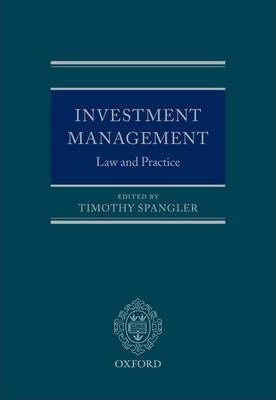 law of investment and financial markets The investment guarantee fund (igf), a legal entity established by the securities  act, is tasked with i) collecting financial contributions from investment firms,.