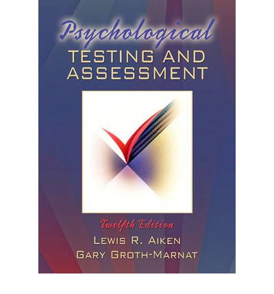 Bøger ipod downloads Psychological Testing and Assessment