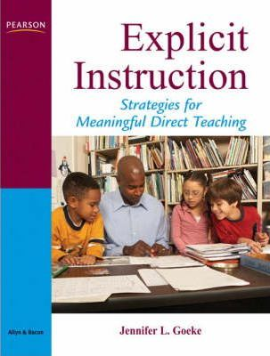 what is explicit instruction