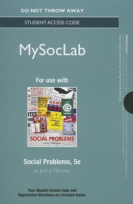 New MySocLab Without Pearson eText - Standalone Access Card - For Social Problems