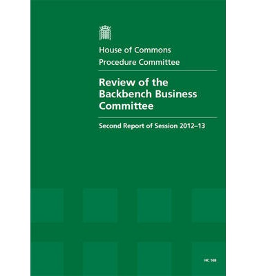 Review of the Backbench Business Committee