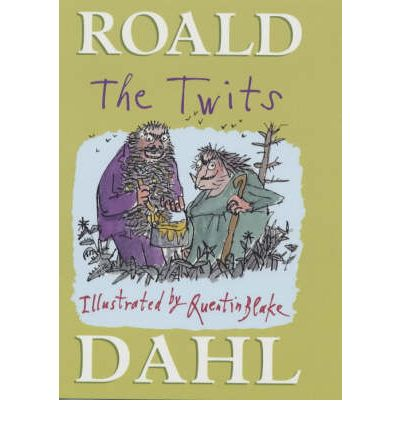 The twits roald dahl quentin blake 9780224064910 for Roald dahl book review template