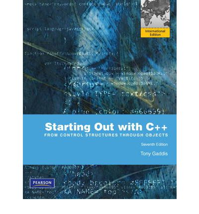starting out with c from control structures to objects