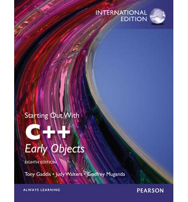 starting out with c early objects tony gaddis