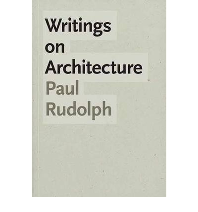 Writings on Architecture