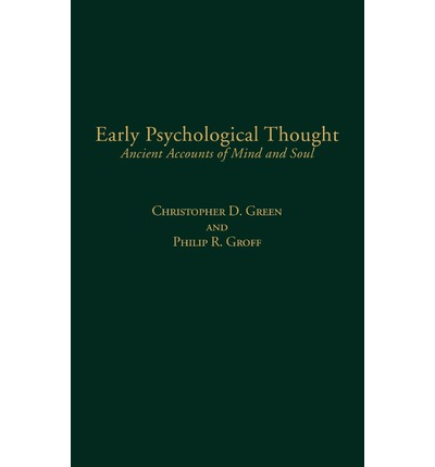 Early Psychological Thought