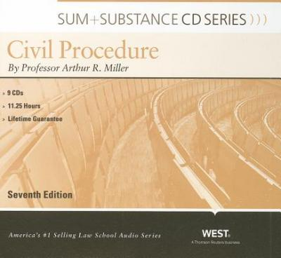Sum and Substance Audio on Civil Procedure