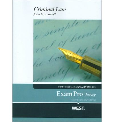 exam pro essay on criminal law 1 bar exam doctor essay approach bar exam doctor wwwbarexamdoctorcom criminal law essay i principles of criminal law a actus reus b mens rea.