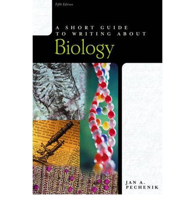 a short guide to writing about biology pearson