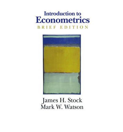 stock and watson introduction to Companion website for introduction to econometrics, 3rd edition.