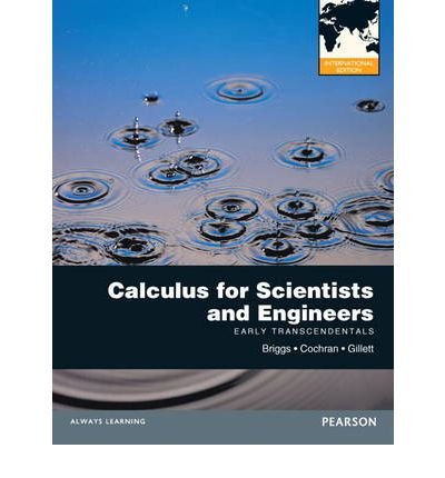 calculus for scientists and engineers briggs cochran gillett pdf